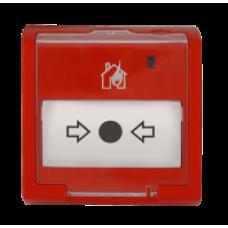 ИПР-513-3ПАМ, Извещатель пожарный ручной адресный.  До 10  извещателей в шлейфе Сигнал-10