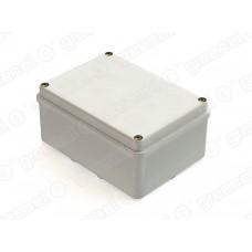 GE41261Коробка распаячная для наружного монтажа, RAL 7035, с гладкими стенками 150х110х85мм,  IP44 (